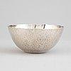 Rey urban, a sterling silver bowl, stockholm 2006.