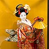 Four late 20th century japanese dolls.