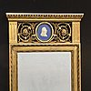 Mirror, empire style, first part of the 20th century.