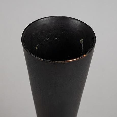A stoneware vase by carl-harry stålhane, rörstrand.