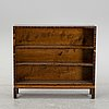 A 1930's rosewood bookcase.