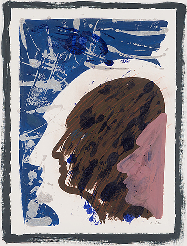 Sami rinne, mixed media, signed and dated -03.