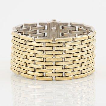 A Chimento 18K gold and white gold bracelet.