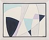 Raimo walo, acrylic on canvas, signed and dated -91.