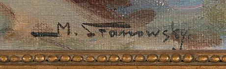 Mikael stanowsky, olja på duk, signerad.
