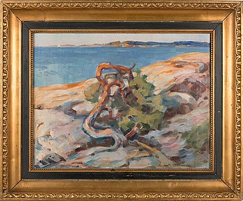Mikael Stanowsky, oil on canvas, signed.