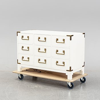 A chest of drawers, NK Inredning, second half of the 20th Century.