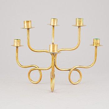 Josef Frank, a six-branched candle holder, Firma Svenskt TEnn, designed in 1934.
