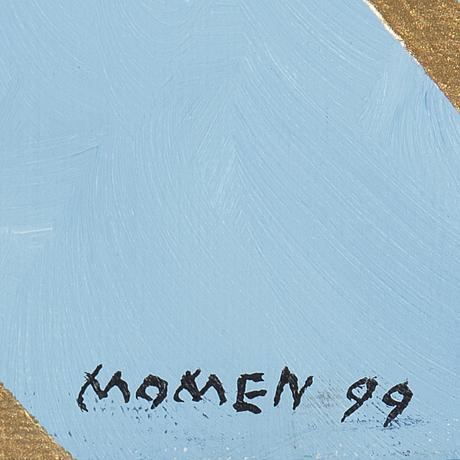 Karl momen, oil on canvas, signed verso.