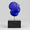 Kjell engman, a glass sculpture, kosta boda atelier.
