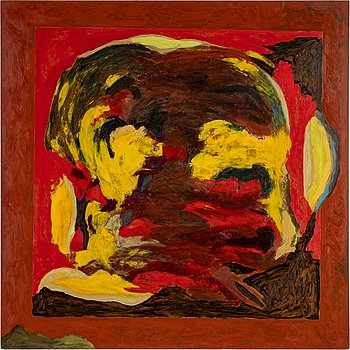 Rolf Hanson, oil on panel, signed and dated 1991 on verso.