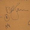 Rolf hanson, olja på pannå, signerad och daterad 1991 a tergo.