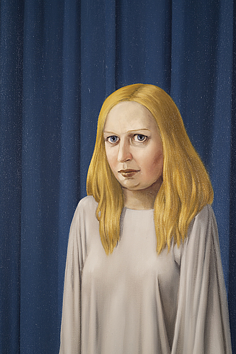 Patrik andiné, oil on canvas signed.