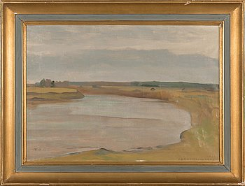 Eero Nelimarkka, oil on canvas, signed and unclearly dated.
