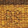 A swedish flat weave carpet signed bs 260x159 cm.