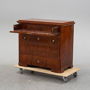 An empire writing dresser by Johan Michael Dumrath, Stockholm 1806-1829,