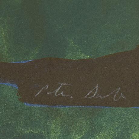 Peter dahl, färglitografi, signerad 302/375.