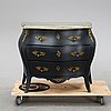 A rococo style chest of drawers, mid 20th century.