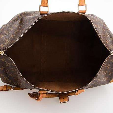 Louis vuitton, 'keepall 55 bandoulière', weekend bag.