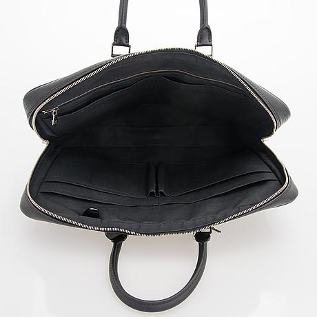 """Louis vuitton, a """"porte-documents voyage"""" briefcase."""