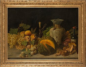 Giuseppe Garinei, oil on canvas, signed.