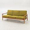 An erik wörtz 1962 walnut kolding sofa for ikea.