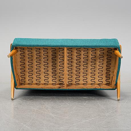 A mid 20th century sofa.