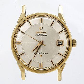 "Omega, Constellation, Chronometer, ""Pie-Pan"", armbandsur, 34 mm."