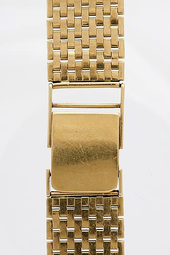 Wrist watch bracelet, 18k gold c 48 g.