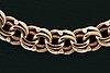 An 18k gold chain. 38g.