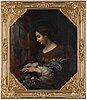 Carlo dolci, copy after, oil on canvas, executed 1923.
