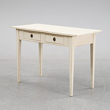 An early 20th Century painted desk.