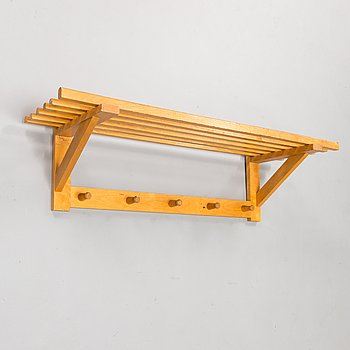 A late 1940s wooden clothes rack '8010' by Asko, Finland.