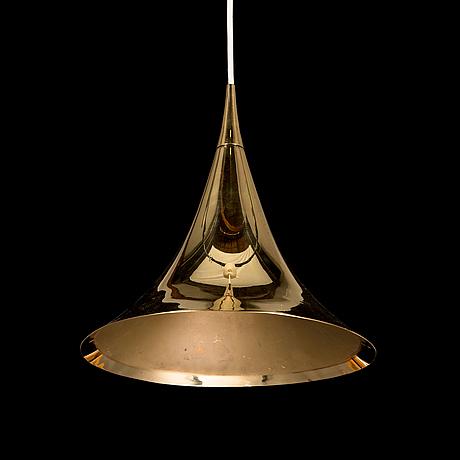 A late 20th century pendant light.