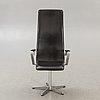"Arne jacobsen, skrivbordsstol ""oxford"" för fritz hansen danmark  1992."