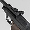A walther lp 53 air pistol, second half of the 20th century.