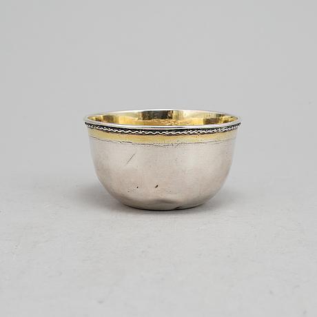 Petter lund, tumlare, silver, nyköping 1714.
