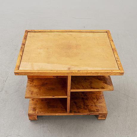 An axel larsson1930s birch  table model 837 svenska möbel-fabriken.