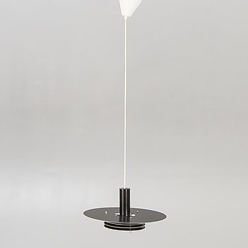 A ceiling lamp marked Horn later part of the 20th century.