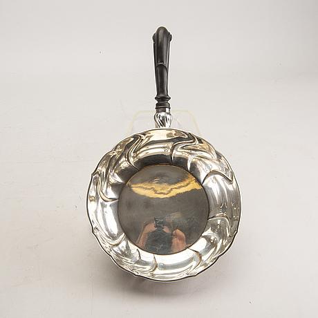 A danish 20th century silver deep dish mark of anton michelsen copenhagen 1918 total weight 468 gr.