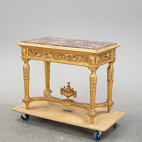 Konsolbord, louis xvi-stil, omkring år 1900.