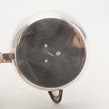 A danish 20th century sivler butter pan mark of i holm copenhagen 1915 total weight 130 gr.
