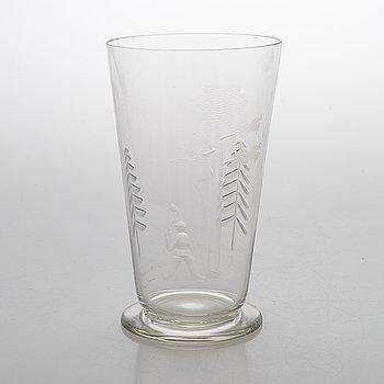 Göran Hongell, Vas, glas, signerad  JL Karhula.