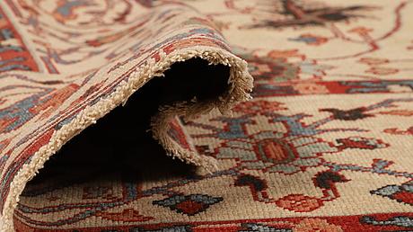 A rug, turkisk design, ca 283 x 183 cm.