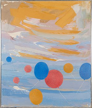 Raimo Uimonen, oil on canvas, signed and dated -81.