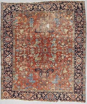 Matto, Antique Heriz, ca 357 x 306 cm.