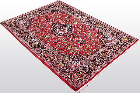 A rug, kashan, ca 160 x 110 cm.
