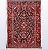 A carpet, kashan, ca 304 x 202 cm.