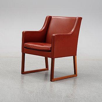 "Børge Mogensen, a lounge chair model ""3246"". Fredericia Stolefabrik."