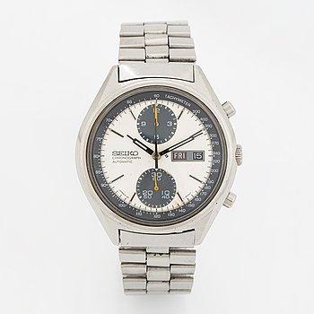 "Seiko, ""Panda"", kronograf, armbandsur, 41 mm."